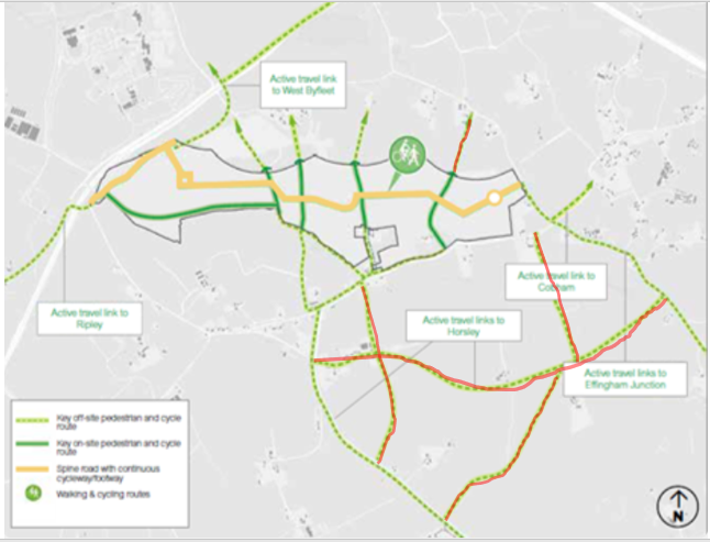 possible cycle routes