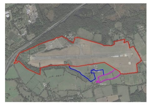 Wisley Airfield Land Ownership Image